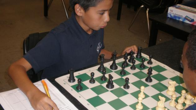 KLA Chess Club- Game Annotations: 12/5/14