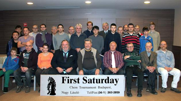 Next First Saturday chess tournament in Budapest on 7th-18th February 2015