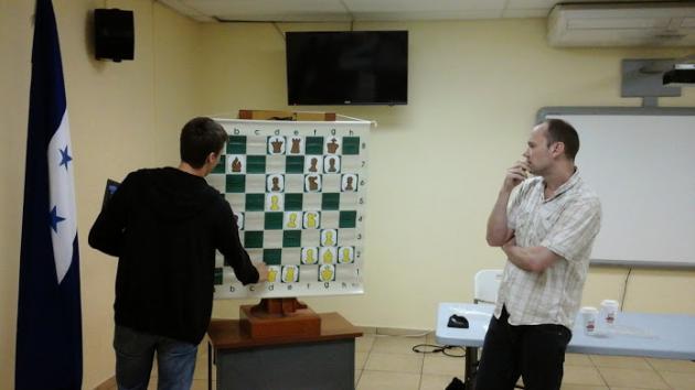 Llega un Gran Maestro a Honduras