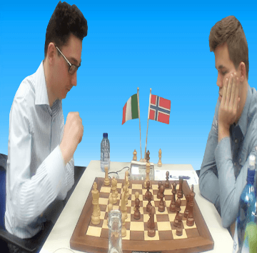 Fabiano Caruana vs Magnus Carlsen - 77th Tata Steel Chess Tournament 2015