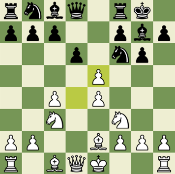 Standard chess game with commentary - King's Indian Defense, Andersson