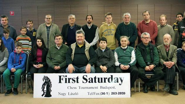 First Saturday GM-IM-ELO tmt Budapest 7th-17th Febr 2015 report