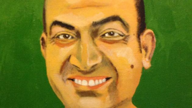 A portrait of Akram.