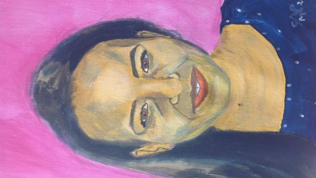 A portrait of Nubia.