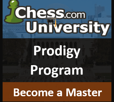Chess.com University's Prodigy Program - April 2015 Registration Open!
