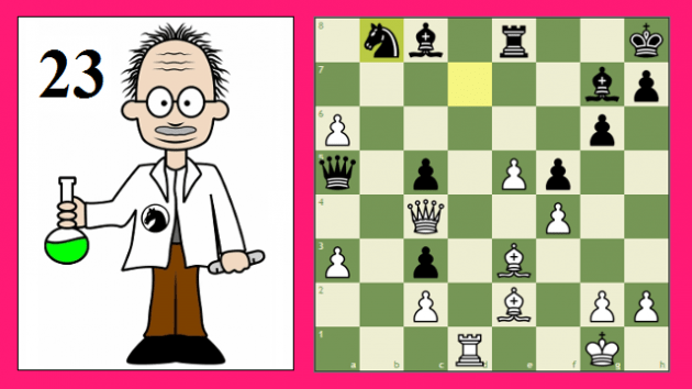 How to Solve Chess Puzzles #23