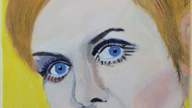 A portrait of Twiggy...