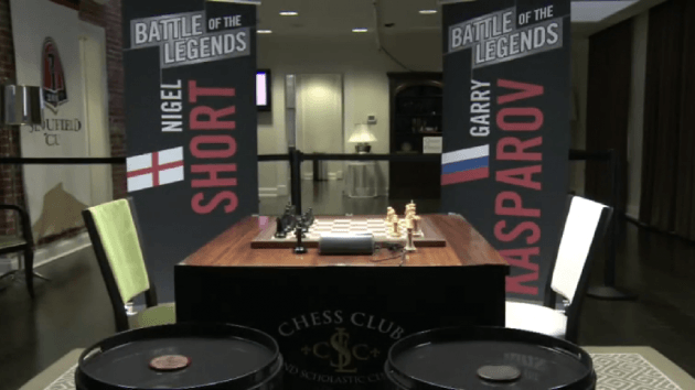 Battle Of The Legends: Kasparov vs Short