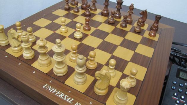 Fritz 1 x Chess Genius on Ipaq (nível 1)