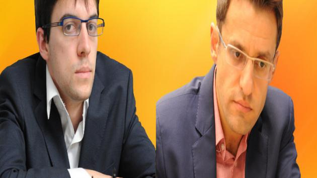Norway Chess 2015 - Maxime Vachier-Lagrave vs Levon Aronian (Grand Chess Tour)