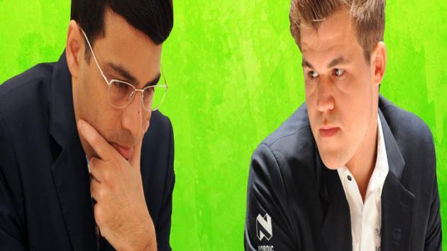 Norway Chess 2015 - Viswanathan Anand vs Magnus Carlsen (Grand Chess Tour)