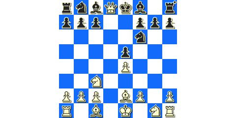 Black's early queen swap against the Bronstein Gambit