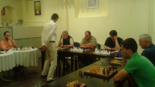 Simul with International Master Attila Turzo for maximum 20 players