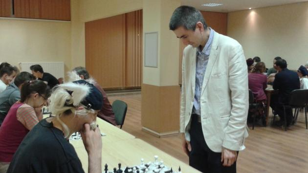 Simul with International Master Attila Turzo on Saturday 15th of August