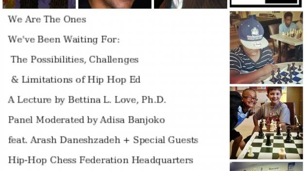 HHCF Grand Opening Aug 15th! Dr. Bettina Love (Nas Fellow) to Speak on Education!