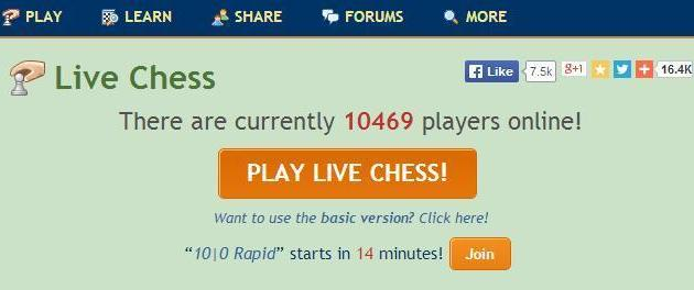 LIVE CHESS: How to Challenge, etc.