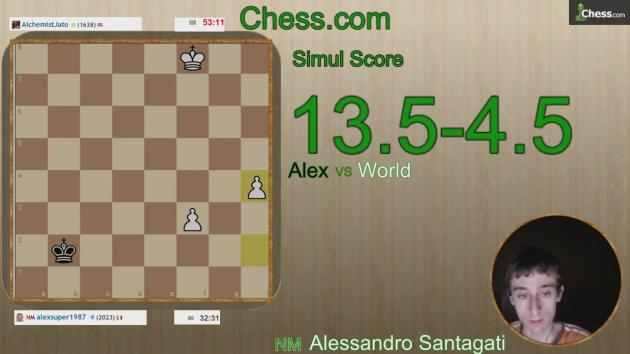 Free Master Simul with live commentary! Wednesday 2 September! Join now!