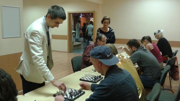 Simul with International Master Attila Turzo on Saturday 5th of September