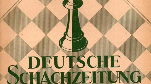 """Puzzle from German chess paper """"Deutsche Schachzeitung"""", 1888"""