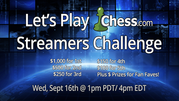 Chess streaming event of the year!!