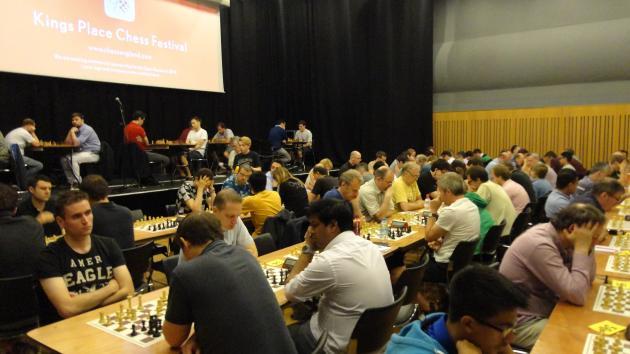Kings Place Rapidplay, London July 11