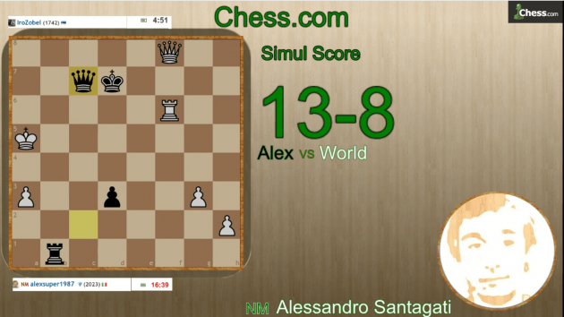 Free Master Simul with live commentary! Thursday 1 October! Join now!