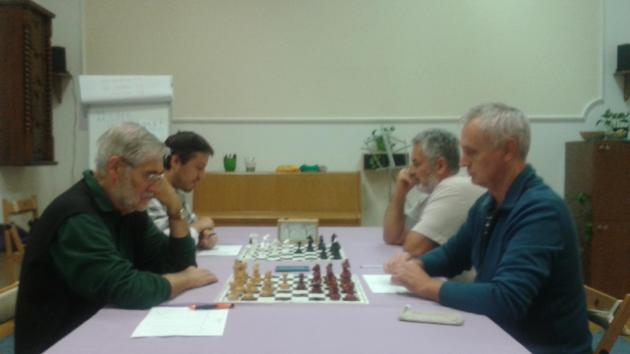 Simul with International Master Attila Turzo on Saturday 17th of October