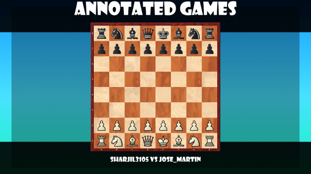 Queen's Gambit, annotated game #7