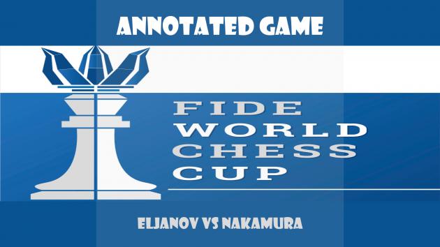 Fide World Cup 2015, Eljanov vs Nakamura