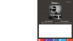Streaming live Chess training