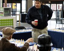 Snaps from a Larry Christiansen Simul in Boston
