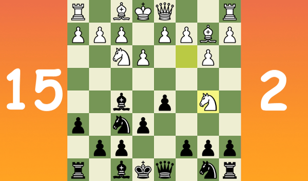Standard chess game with commentary #13 - Nimzo-Larsen Attack