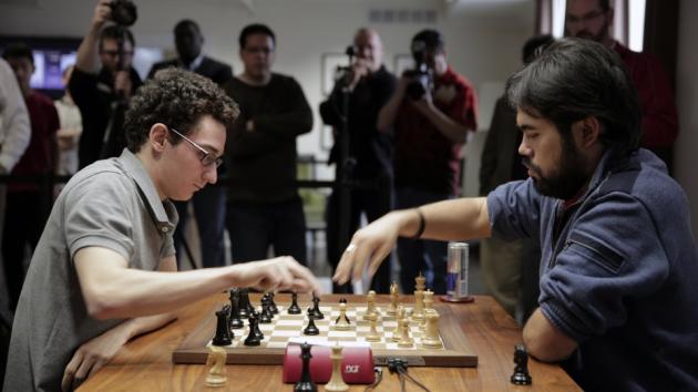 Caruana Prevails in Unique Match with Nakamura