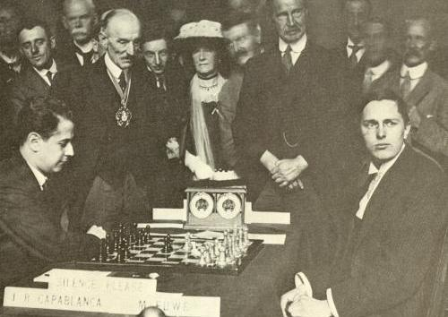 Capablanca vs Tory Prime Minister Bonar Law