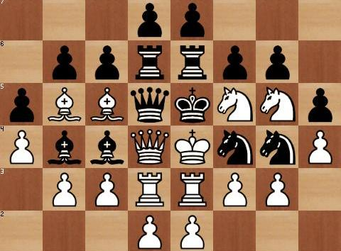 Compromised position in Chess