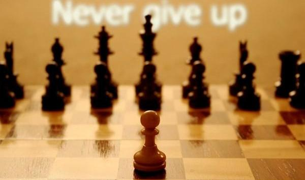 Never Give Up - Fight Till the Last Drop of Blood!