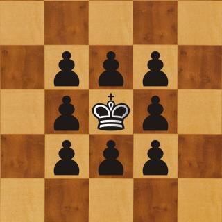 La Jaula de Hierro ¿Como atrapar al Rey en el Centro?