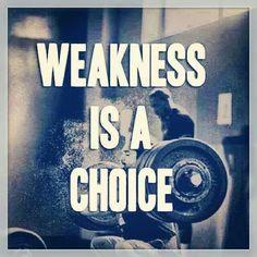 Overcoming My Weaknesses