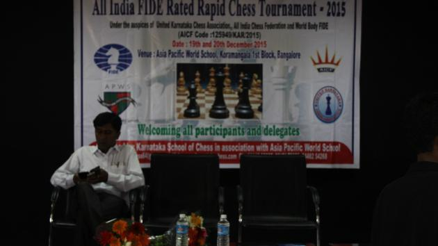 All India Fide Rated Rapid Chess Tournament Bangalore