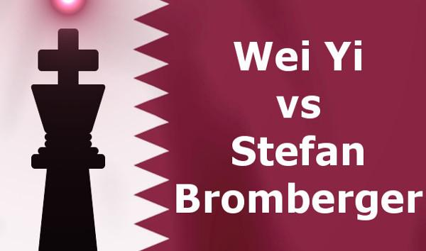 Wei Yi vs Stefan Bromberger - Qatar Masters Open 2015