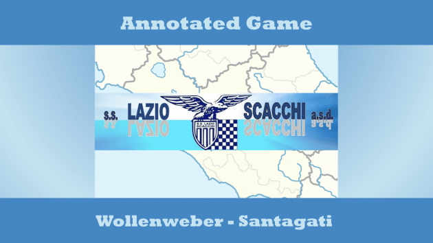 Game Annotated: Wollenweber-Santagati - Sicilian Defence