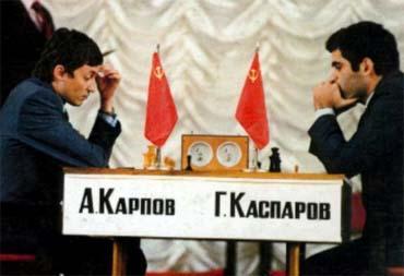 Garry Kasparov vs Anatoly Karpov (1984)