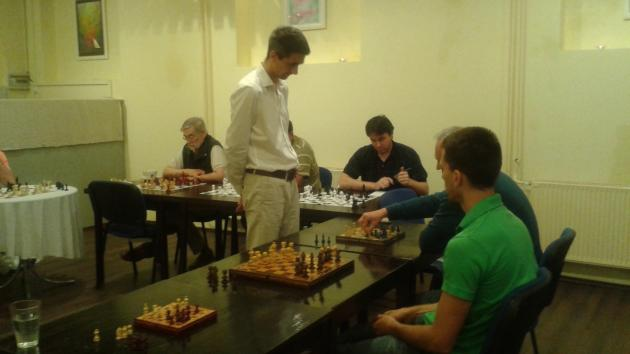 Simul on Tuesday with International Master Attila Turzo