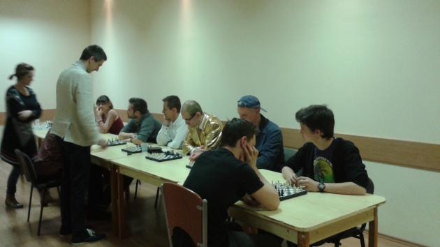 Simul on Friday with International Master Attila Turzo