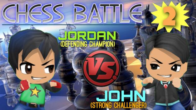 Chess Battle #2 - Jordan VS John