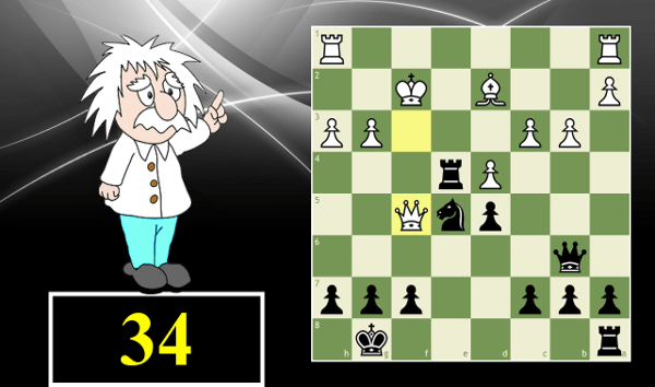 How to Solve Chess Puzzles #34