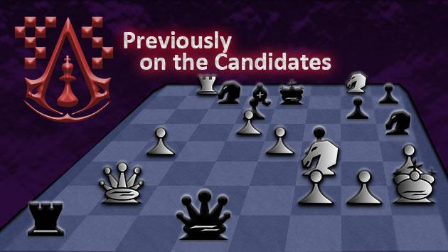 Previously on the Candidates