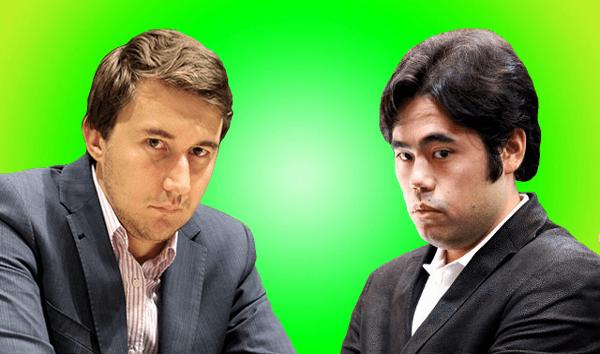 2016 Candidates Chess Tournament - Sergey Karjakin vs Hikaru Nakamura - Round 2