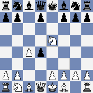 Mating patterns in 5-min-games (8) - A rare R+2P mate