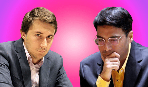 2016 Candidates Chess Tournament - Sergey Karjakin vs Viswanathan Anand - Round 4